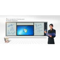 China Single Sided LCD Intelligent Whiteboard , Dry Erase Marker Board with Colorful Pen on sale