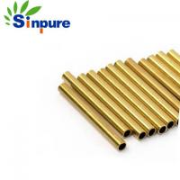 China High Precision Brass Copper Tube Brass Capillary Tube ISO 9001 Approved on sale