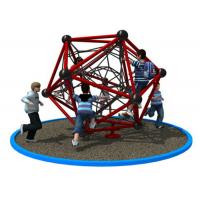Cheap Polygonal Shape Rope Climbing Structure With Long Warranty Period KP-PW033 for sale