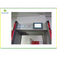 Buy cheap Airport Security Walk Through Metal Detector 33 Zones With Remote Controller from wholesalers