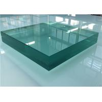 Cheap Sound Control Toughened Laminated Glass , Acoustic Laminated Glass For Shower Door for sale