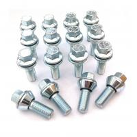 Cheap Alloy Wobble Wheel Bolts M12 X 1.25 , Variable Pcd Bolts 2 Mm Tolerance for sale