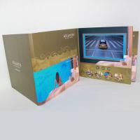 Cheap 3D Audio LCD Touch Screen Video In Print Brochure HD Greeting Card For Business for sale
