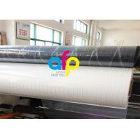 Cheap Transparent Holographic Bopp Lamination Film 26micron Standard / Customized Pattern for sale
