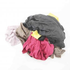 Cheap No Sequin 35×50cm 25kg/Bale Bulk T Shirt Rags for sale