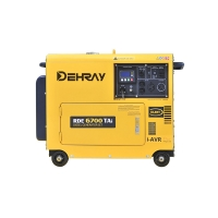 Cheap Single Cylinder 5KVA 155kg Portable Diesel Powered Generator for sale