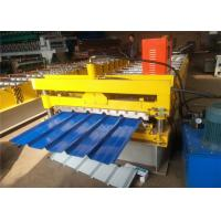 2018 Hot market Galvanized Color Steel Roof Panel Roll Forming Machine 8-12m/ Min LC Control