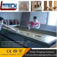 Cheap TM2480 pvc door making vacuum membrane press machine for sale