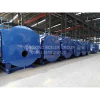 Cheap Horizontal Oil Fired Hot Water Boiler Oil Powered Boiler  5000000kal/H With Riello Burner for sale