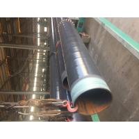 Cheap DN 500 ASTM A106 Coated Steel Pipe CSA Z245.21 3L PE Coating Bevelled End for sale