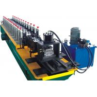 Cheap Perforation Shutter Door Roll Forming Machine With PLC Control System for sale