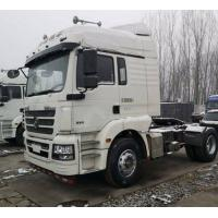 Cheap White Shacman Brand Used Tractor Trailers 350hp Euro V Manual Diesel 2017 Year for sale