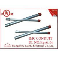 White Thin Wall Steel IMC Electrical Conduit Galvanized 1-1/2 inch 1-1/4 inch