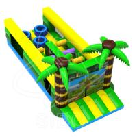 Buy cheap Latest Design Inflatable Kids Bouncer Play Ground Bouncer Obstacle Course For from wholesalers