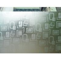 Cheap Frosted 9mm 7mm Acid Etched Glass Ultra Clear For Office Partitions for sale