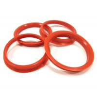 Cheap Audi Components Wheel Spacer Hub Centric Ring , Car Wheel Ring Red Color for sale