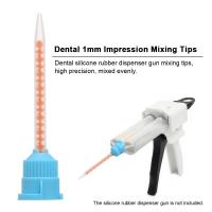 Buy cheap Dental Temporary Amalgam Capsule Mixer Silicon Rubber Dispenser Gun Mixing Tips from wholesalers