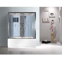 Cheap Rectangular Clear Glass Shower Enclosures , Rectangular Shower Stalls Kits for sale