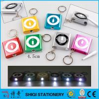 LED square keychain pen a small pen inside,promotional gift led pen Manufactures