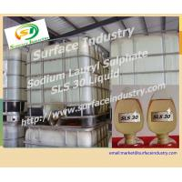 Cheap Sodium Lauryl Sulphate 30%,SLS K12 Liquid In Detergent Industry for sale