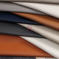 Cheap Thickness 2.0mm Furniture Upholstered Micro Fiber Leather Lichee Grain for sale