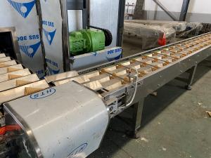 Cheap Stain Steel 90 Degree Turn Conveyor Ice Cream Cone Production Line for sale