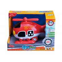 """Cheap Light And Sound Rescue Fire Truck Ambulance Baby Girl Toys Red Blue 8 """" Helicopter for sale"""