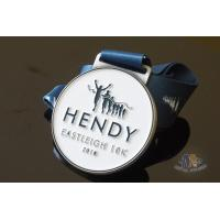 Cheap Run Run Or 10K Marathon Custom Award Medals HENDY Sports Logo Filling Soft Enamel for sale