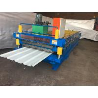 Cheap Color Steel Corrugated Iron Roller Machine 13 Rows For Roof / Wall Panel for sale