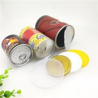 Cheap Matt Lamination Easy Open Paper Composite Cans For Dried Fruit / Food Powder for sale