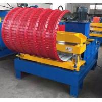 Cheap Horizontal Curving Hydraulic Bending Machine , Roofing Hydraulic Metal Bender for sale
