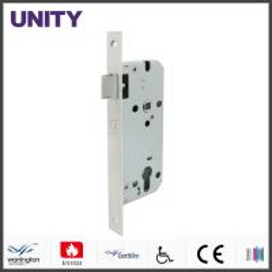 China Certifire Mortice Door Lock Fire Test Latch Passage EN1634 EN12209 Stainless Steel on sale