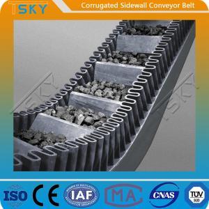 Cheap B1400 Corrugated Sidewall Rubber Conveyor Belt for sale