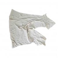 Cheap Strong Absorbency 100kg/Bale 30cm White T Shirt Rags for sale