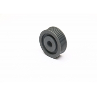 Cheap Iron Alloy Round Hole Timing Belt Pulley For Textile Manufacturing Machine for sale