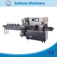 Multifunctional Pillow Type Plaster Flow Wrapping Equipment With Multi Pieces Automatic Feeding