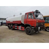 Cheap 20000L Water Tanker Truck With 210HP Diesel Engine Dongfeng 4x2 6x4 Sprinkler for sale