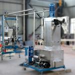 Cheap Compound Granules PE Pellet Making Machine , 500Kg / H Underwater Pelletizing System for sale