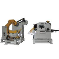 Cheap Floor - Type Sheet Metal Decoiler For Panel Forming / Hydraulic Rim Press Machine for sale