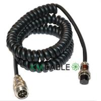 Buy cheap Shielded Coiled Spiral Cable Assembly Waterproof Male Female Customized Logo from wholesalers