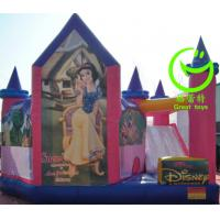 Cheap 2016 hot sell  inflatable princess bouncy castle with 24months warranty for sale