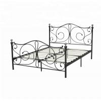 Cheap Home Furniture Slat Support Bed , Knock Down Bed Frame Smooth Finish Edges for sale