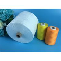 Cheap 100% Polyester Yarn 30s/2 Raw White Polyester Spun Yarns For Garments Sewing for sale