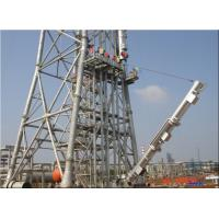 Quality Open Ground / Elevated Demountable Flare System Carbon Steel Material 40-160m Height wholesale