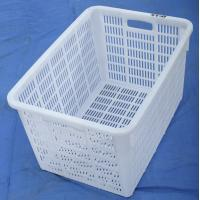 Cheap Plastic net crate using fresh fruit , fish crate for sale