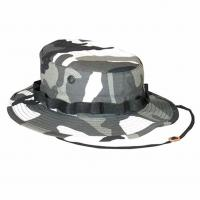 Cheap Custom Wide Brim Army Military Hats , Digital Camo Boonie Hat UV Protection for sale