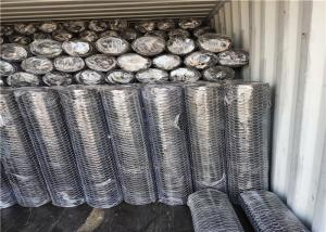 """Cheap 1"""" Mesh 4"""" Width Building Hexagon Wire Mesh Hot Dipped Galvanized for sale"""