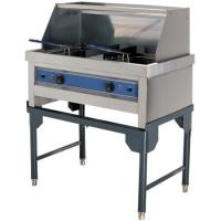 Cheap CE Restaurant Equipment Commercial Cooking Equipment Commercial Deep Fryer with Shelf HEF-212 for sale