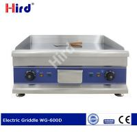 Buy cheap CE Electric griller Chrome griddle vs steel for Hotel kitchen equipment WG-600D from wholesalers