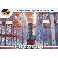 Cheap Durable CE Customized Industrial Pallet Racking System , Easy Assembly Steel Heavy Duty Shelving for sale